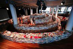 Book Labyrinth, Southbank Centre, London, 2012