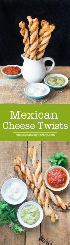 Bring the flavours of Mexico to your party or picnic with these easy to make Mexican cheese twists.
