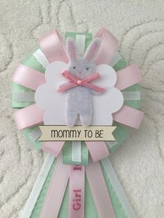 Mommy To Be Ribbon Corsage For Baby Shower Itu0027s By KatrinaInvites