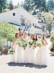 Elegant Coastal Chic Roche Harbor Wedding - Style Me Pretty