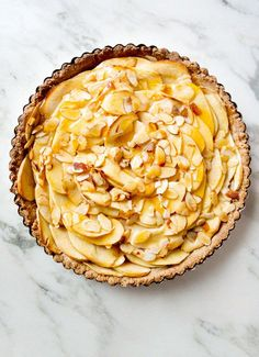 Apple Tart | #glutenfree #dairyfree #vegan