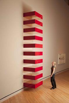 Donald Judd, Untitled1989 (Bernstein 89-24), 1989, copper and red Plexiglas…