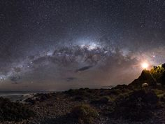 The Milky Way from New Zealand: This is the winner of the Earth & Space category and the overall winner of Astronomy Photographer of the Year 2013 Mark Gee
