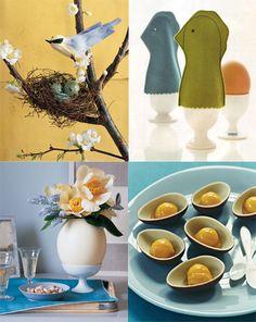 Os ovos e a Páscoa - decorativo