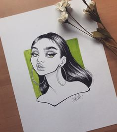 this is a drawing I did from a little while back that I never got around to posting I created a video of with to show you guys my process using products! (I used pens & koi brush pens for this specific piece). I cant wait for you guys to see it! Pencil Art Drawings, Art Drawings Sketches, Cool Drawings, Drawing Drawing, Arte Sketchbook, Copics, Art Journal Pages, Aesthetic Art, Cartoon Art