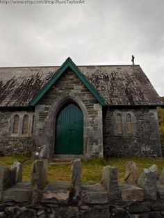 An old Irish House ~Via Romantic Getaways (Personally, I'd say this is an old Irish Church. Arches, Graves, Cross at the tippy-top, just sayin') Old Irish, Irish Celtic, Malta, Irish Cottage, Irish Roots, Irish Blessing, Old Churches, Irish Eyes, Luck Of The Irish