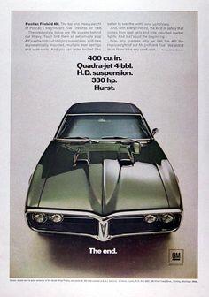 1968 Pontiac Firebird 400