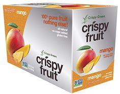 Crispy Green 100% Freeze-Dried Fruits, Mango, 0.36 Ounce, 12 Count Crispy Green http://www.amazon.com/dp/B00F6MFQ06/ref=cm_sw_r_pi_dp_9hEAvb0Y0CMSP