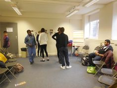 PAYP Participants learn about the acting industry through fun and engaging activities: Acting as a career
