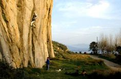 Greece Rock Climbing Photo Gallery: Batman by the Sea at Varasova. Photo @ Stewart M. Green