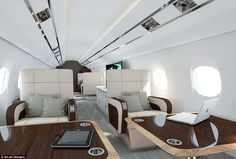 In private aircraft, a lot of attention is given to the design of the aircraft seats, with...