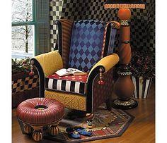 MacKenzie-Childs Maestro Chair