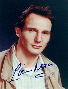 Autograph by Liam Neeson