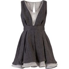 Tristan and Trista babydoll dress...if it were only a few inches longer it would be perfect!