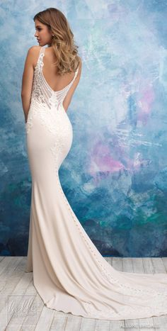 63 Best Low And Open Back Wedding Dresses Images Wedding Dresses
