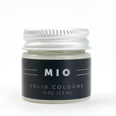 .5 oz. Mio Solid Cologne - Lime & Vetiver