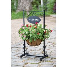 Choose from our extensive range of garden pots, planters, plant stands and raised beds - we have literally hundreds to chooose from and we guarantee to. Outdoor Planters, Garden Planters, Outdoor Gardens, Outdoor Decor, Iron Furniture, Garden Furniture, Square Baskets, Flower Stands, House With Porch