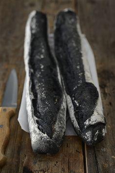 Black Bread - Darkness Food (vegan bread, Squid Ink Free)