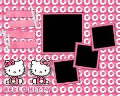 Second-hand Scrapbook Kits Studio Calico Scrapbook Supplies, Scrapbooking Layouts, Scrapbook Paper, Digital Scrapbooking, Scrapbook Kit, School Scrapbook, Jakarta, Birthday Tarpaulin Design, Hello Kitty Birthday Invitations