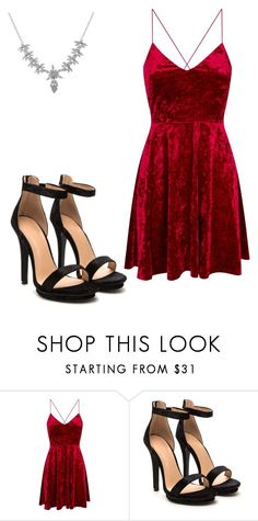 """Untitled #15"" by thequennie on Polyvore featuring Luxiro"