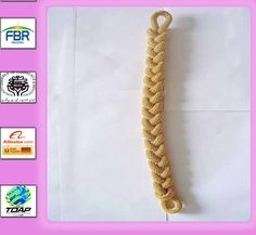 Gold braid plain plait braided cord rank lace army military crafts 25m