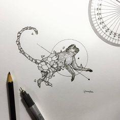 """Résultat de recherche d'images pour """"dessin géométrique animaux"""""""
