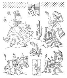 Vintage Embroidery Transfers | Flickr - Photo Sharing!