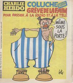 Radios, Charlie Hebdo, Comic Books, Mars, Humor, Comics, Wednesday, Painted Canvas, March