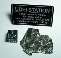 Udei Station.  Silicated iron meteorite.  Not for sale.