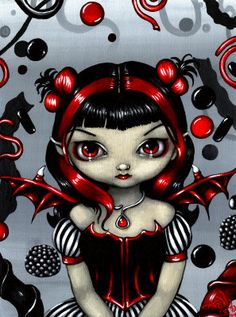 Licorice Fairy - Jasmine Becket-Griffith