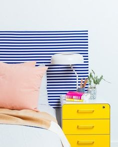 IKEA Bed Frame Hacks - DIY Headboard Projects   Apartment Therapy