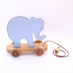 Elephant Pull Toy