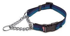 Cetacea Chain Martingale DogPet Collar with Quick Release Step 1 Small Blue -- Click image for more details.Note:It is affiliate link to Amazon.