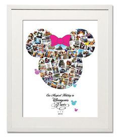 Magical Minnie Photo Collage - Treasure on the Wall Ltd