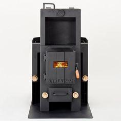 薪・ペレット兼用ストーブ「クラフトマン」。近代製鉄発祥の地で職人の技術によってひとつひとつ手作りされた環境にやさしい、電気をつかわない、唯一の薪・ペレット兼用のストーブ。