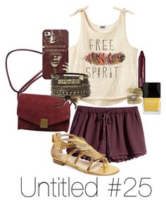 """""""Untitled #25"""" by rherb ❤ liked on Polyvore featuring H&M, Zadig & Voltaire, Casetify, Jerome C. Rousseau, BKE, Natalie B and Butter London"""