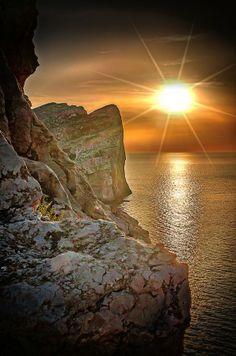 Sunset - Capocaccia, Sardegna by Stefania Loriga, 500px