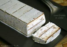 Un goloso semifreddo al wafer è quello che fa per voi; fresco,goloso al punto giusto ed estremamente facile e veloce da preparare! Leggete la ricetta sotto: