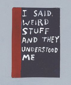 'I Said Weird Stuff' Michael Dumontier & Neil Farber