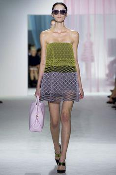 spring 2013 ready to wear christian dior patrycja gardygajlo (NEXT) #fashion #blue #green