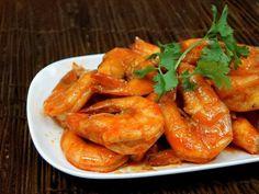 Crevettes caramélisées faciles au wok - Recette de cuisine Marmiton : une recette