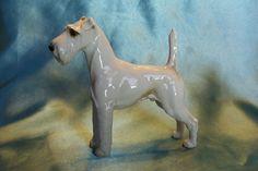 VERY RARE ~ Hutschenreuther Dog ~ Terrier ~ Excellent Condition