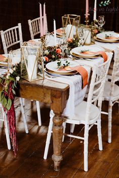 Gold Lanterns, Table Settings, Rustic, Country Primitive, Place Settings, Retro, Farmhouse Style, Primitives, Country