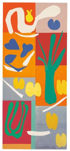 Colour-wonder-ful chaos ensues at Tate Modern with Henri Matisse's paper 'cut-outs' art Henri Matisse, Matisse Kunst, Matisse Art, Matisse Tattoo, Matisse Drawing, Matisse Cutouts, Matisse Paintings, Art Club, Art Plastique