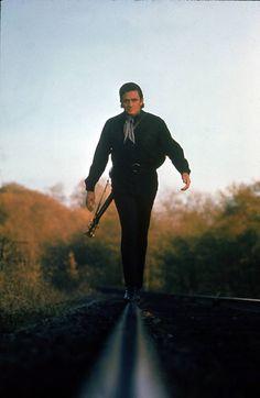 Johnny walks the line.