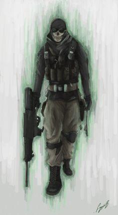Ghost - Call of Duty - sbalac.deviantart.com