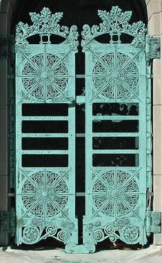 Louis H.  Sullivan Getty Tomb Doors