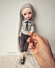 Ever after high doll custom