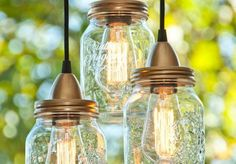 How To Make DAZZLING Mason Jar Lanterns! - http://www.gottalovediy.com/wp-content/uploads/sites/1137/2015/12/masonjarlantern4.jpg - In this tutorial you will learn how to make dazzling Mason Jar Lanterns with only a few supplies. These lanterns look amazing when strung in a set of 3 at various lengths. - http://www.gottalovediy.com/how-to-make-dazzling-mason-jar-lanterns/