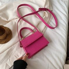 2020 Stone Pattern Leather Crossbody Bags For Women Handbags and Purses Fashion Mini Shoulder Messenger Bags Female Small Flaps (2020 Stone Pattern Leather Crossbody Bags For Women) by www.irockbags.com Mini Messenger Bag, Mini Crossbody Bag, Mini Purse, Crossbody Shoulder Bag, Mini Bag, Crocodile, Handbag Patterns, Mini Handbags, Tote Pattern